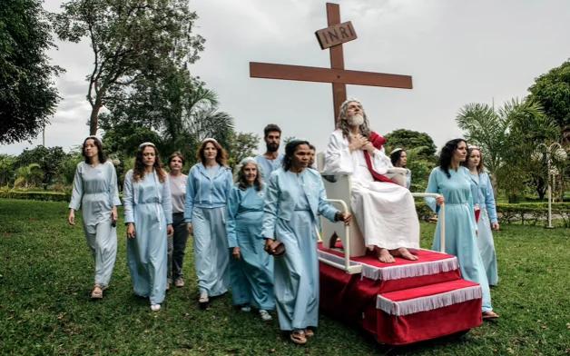 INRI Cristo. Photo: Telegraph/Jonas Bendiksen
