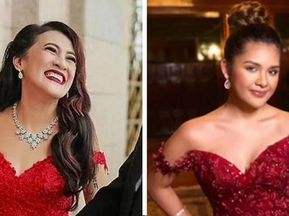 Gaya-gaya puto maya? Isabelle Duterte's pre-debut gown admits striking resemblance to Ai-Ai Delas Alas' prenup gown!