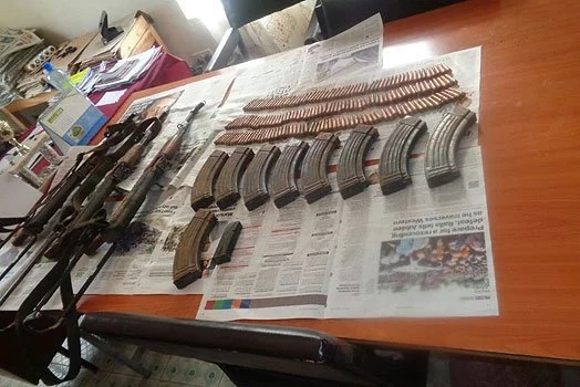 Police intercept deadly weapons from al-Shabaab radicalized former cop