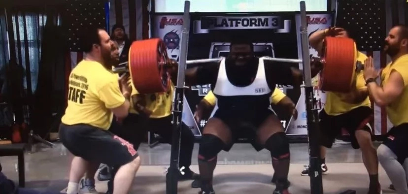 Man As Strong As A Bulldozer Sets World Strength Record