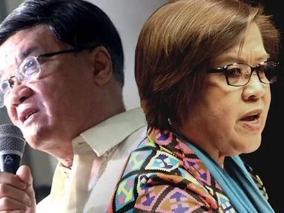 Ang mature lang! Furious Aguirre says he may be losing his hair but De Lima is losing her mind