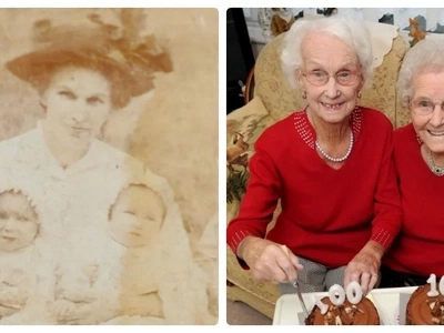From the beginning of life through the century to the end. Sisters-twins celebrate their 100th birthday together