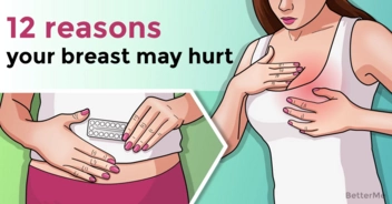 12 reasons your breasts may hurt