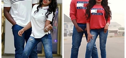 Bride flaunts all her assets in her pre-wedding photos with her man