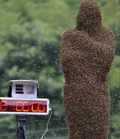 This Chinese holiday turned a whole bunch of people into horrendous giant beehives