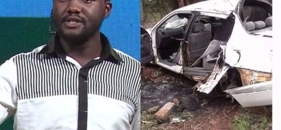 Churchill Show comedian speaks after surviving tragic accident that left Aiyeyaa DEAD