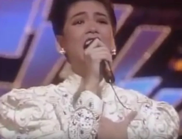 Throwback video of Regine Velasquez's 1989 performance wows netizens