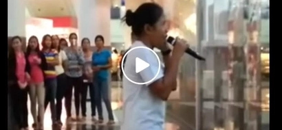 This woman singing in a mall in the PH has one of the best versions of 'Listen'; this is the reason why!