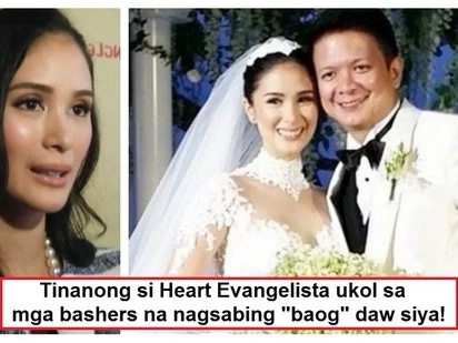 Below the belt na ang insulto! Heart Evangelista is 'deadma' on bashers who called her 'baog'