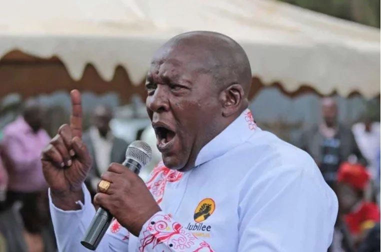 Mwanasiasa wa Jubilee aliyemuonya Raila kuwa Jubilee i tayari kwa vita akamatwa