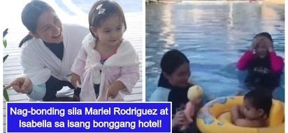Mayamang mag-ina! Mariel Padilla bonds with Maria Isabella by spending quality time at lavish hotel