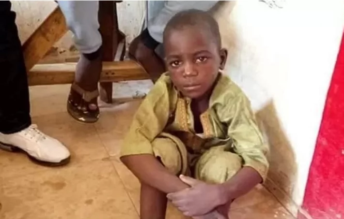 6-year-old boy found chained in Nigeria