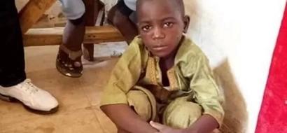 Little boy found chained in Nigeria