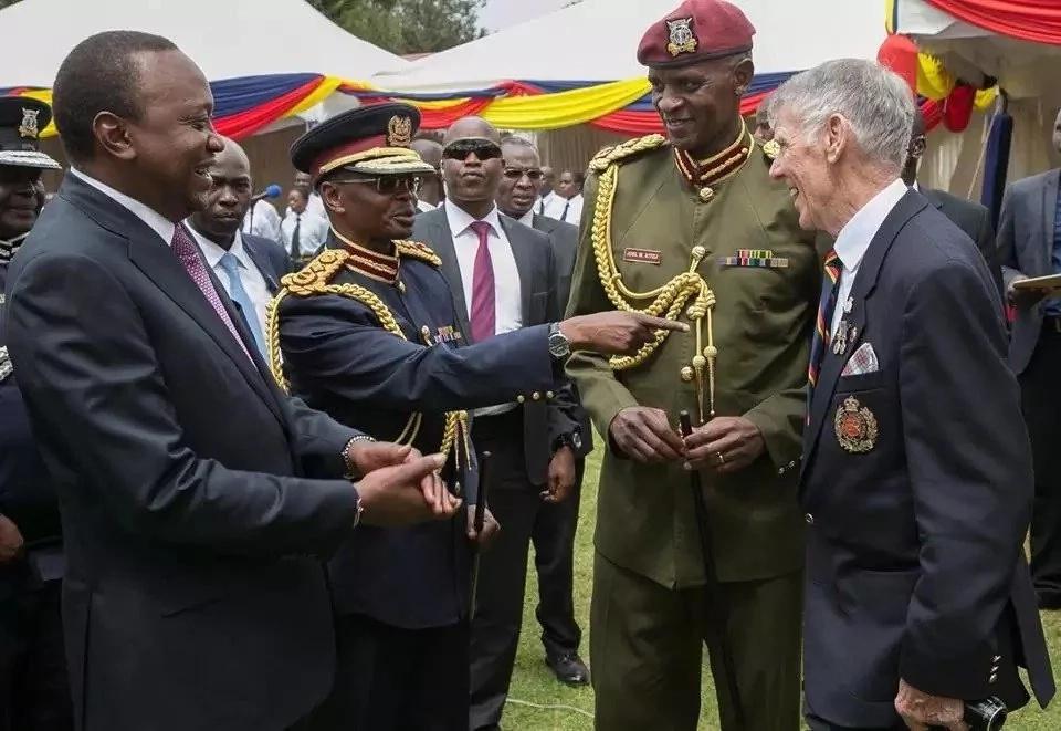 Picha za Rais Uhuru akiwa Nyeri, usalama ulikuwa wa juu