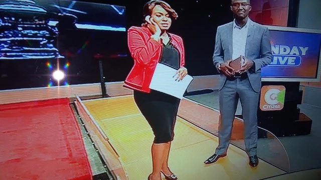 Citizen TV's Anne Kiguta is back from maternity leave and she looks yummy (photos)