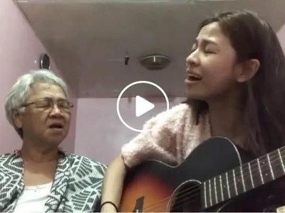 Sweet Pinay shares her touching song cover with the 'cutest grandma in the world'