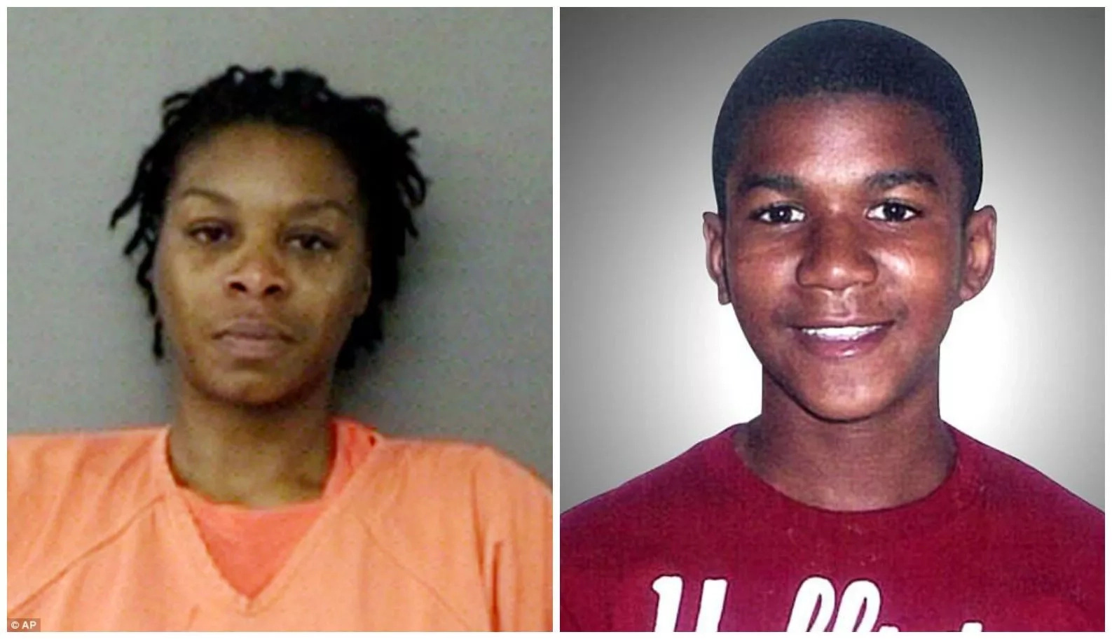 Sandra Bland (left) and Trayvon Martin died in circumstances deemed by many as unjust