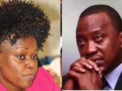 Millie Odhiambo's strange dream about Uhuru