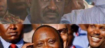 Baadhi ya vigogo wa NASA wakosa kuonekana wakati wa ujumbe mkuu wa Raila,wako wapi?