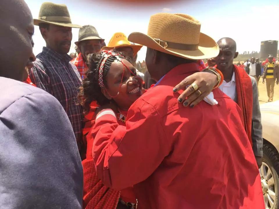 Raila condoles with late Ntimama family