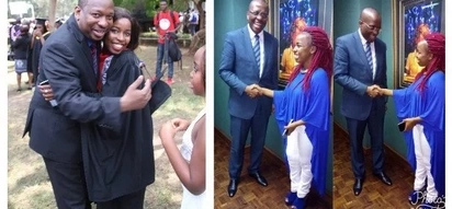 So adorable: Mike Sonko's eldest daughter speaks about her dad beating Kidero in August