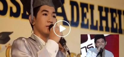 From The Voice Teens four chair turner to Class Valedictorian real quick...his graduation message will inspire you!