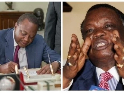 Name your cabinet urgently - Atwoli tells Uhuru