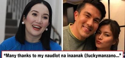 Pati si Tetay nanghinayang kay Angel? Kris Aquino calls Luis Manzano her 'naudlot na inaanak,' resurrects 'naudlot na kasal' between him and Angel