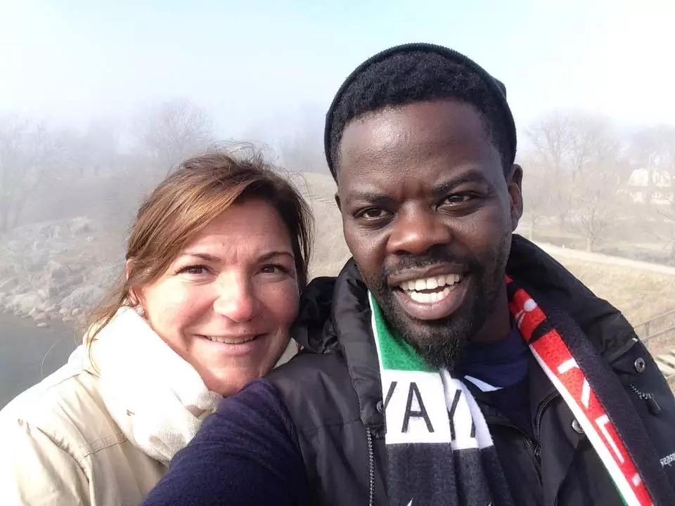 Mother-in-Law actor Ninja gets married to mzungu fiancée