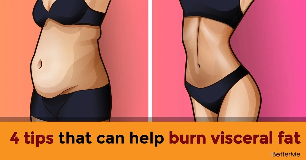 4 tips that can help burn visceral fat