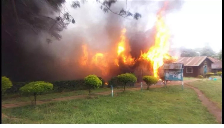 University of Nairobi students set hostel on fire even as the university closes down