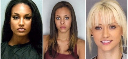 See stunningly beautiful female felons who look like supermodels in police photos