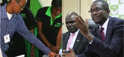 IEBC explains the only way Kenyans will know the winner between Uhuru and Raila after August 8