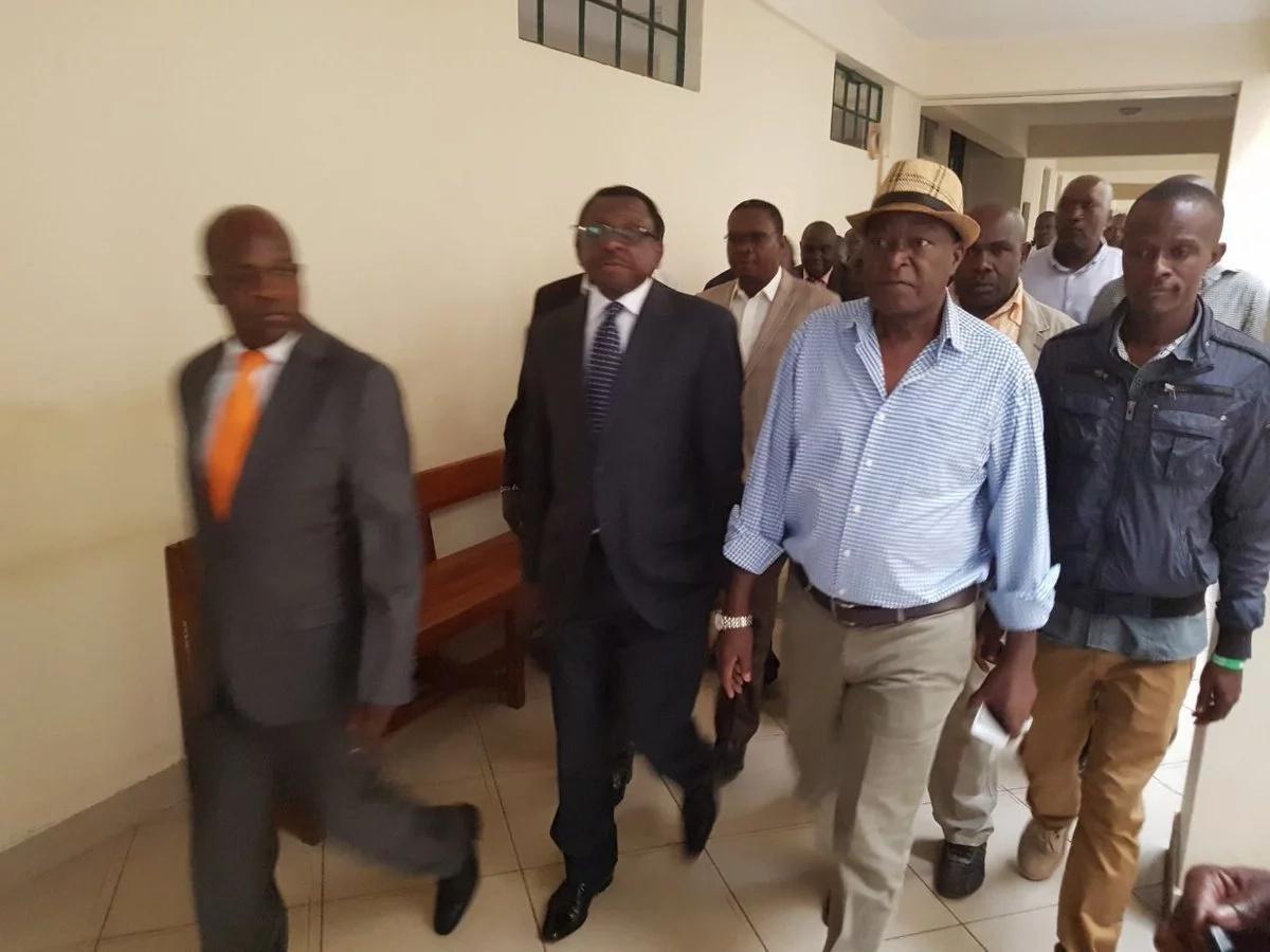 Joy for Kisumu Governor Anyang Nyongo after High Court dismisses petition by Jack Ranguma