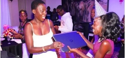 Akothee's daughter was not affected by Matiangi's strict marking. Here is proof