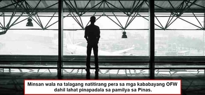 Grabe sila mag-isip! 5 heartaches of many OFWs that some of their families in the Philippines may never understand!