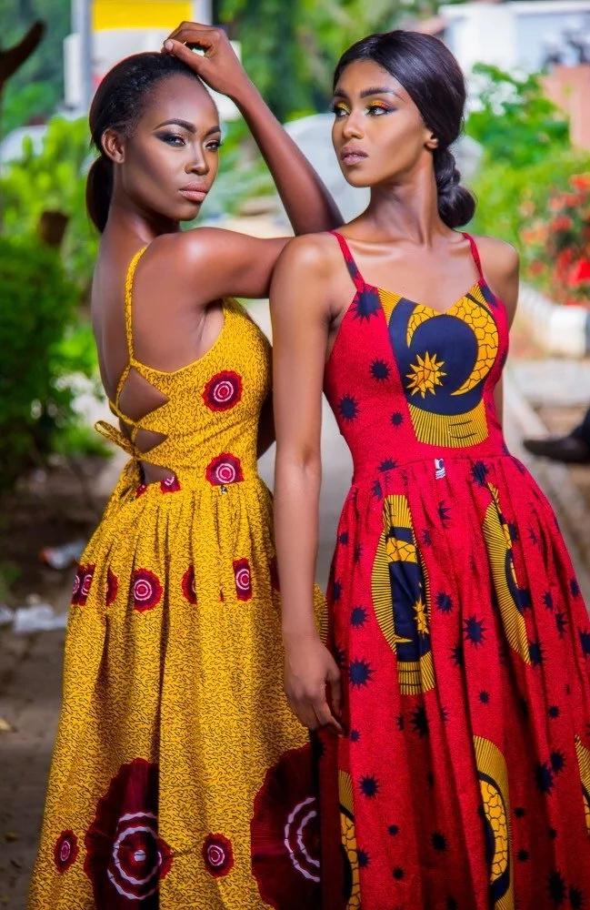 Kitenge dress designs for weddings
