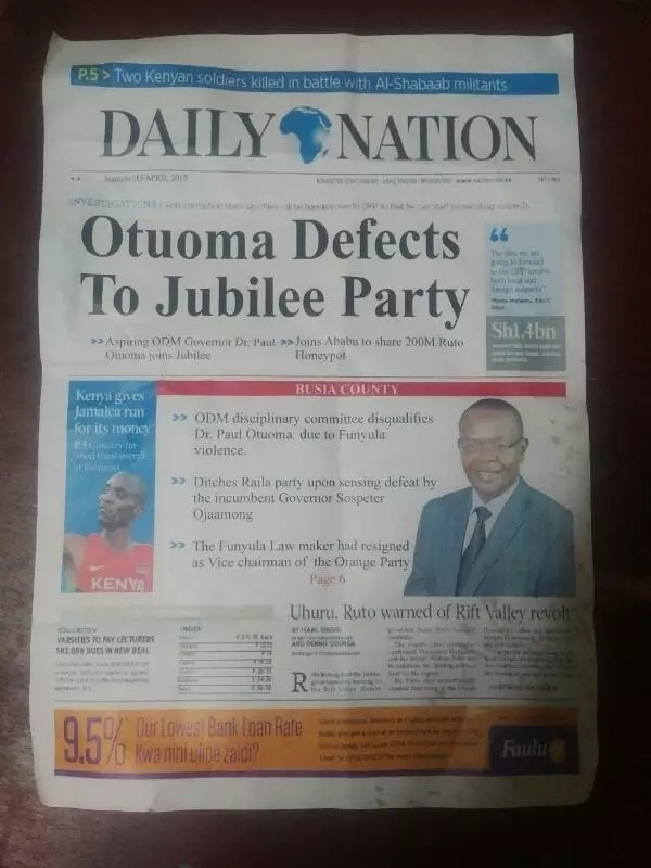 More DRAMA as nomination ballot papers in Busia die out, residents make plea to Raila Odinga