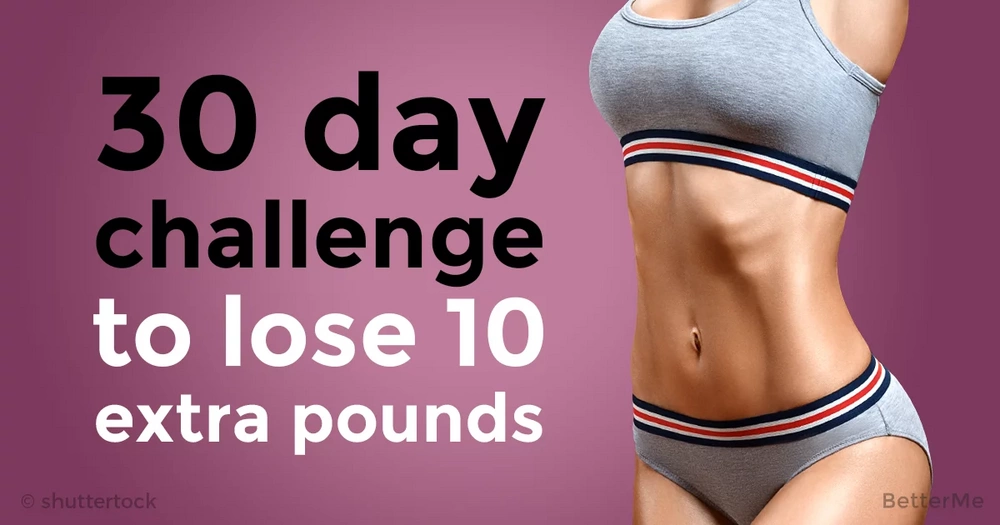 30-day workout challenge that can help you get rid of 10 extra pound