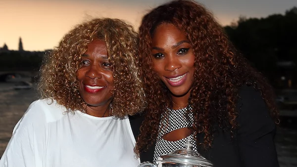 Serena Williams pictured with her mom Oracene Price. Photo: Because of Them We Can