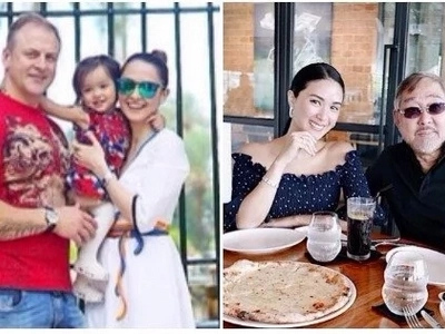Celebrities who paid tribute to their dad and husband on Father's Day!
