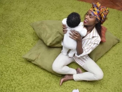 Single-mum and Papa Shirandula actress ,Awinja, explains why she fears posting her son on social media