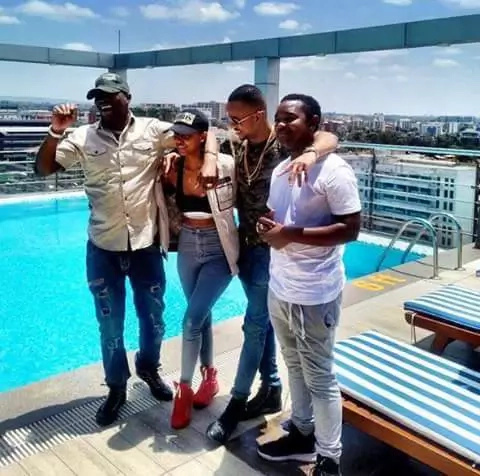 Huddah unveils the face of her American-based boyfriend