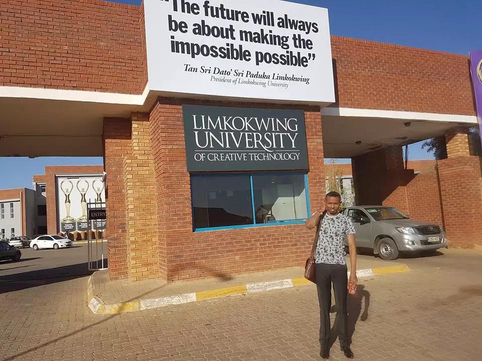 Moha Jicho Pevu in Botswana