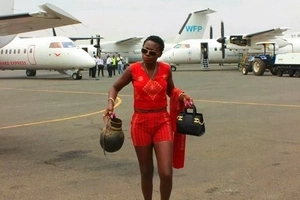 Akothee angered after being put on Jubilee poster(photo)