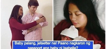 May special treatment dahil artista? Netizens ask how come Isabelle Daza got her baby a passport