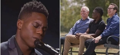 2 dads adopt a toddler, then 14 years later he dedicates his mother's song (photos, video)