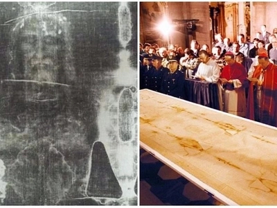 Turin Shroud does show Jesus's face! New research proves he was tortured until he bled