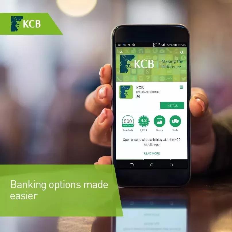 kcb mobile banking app