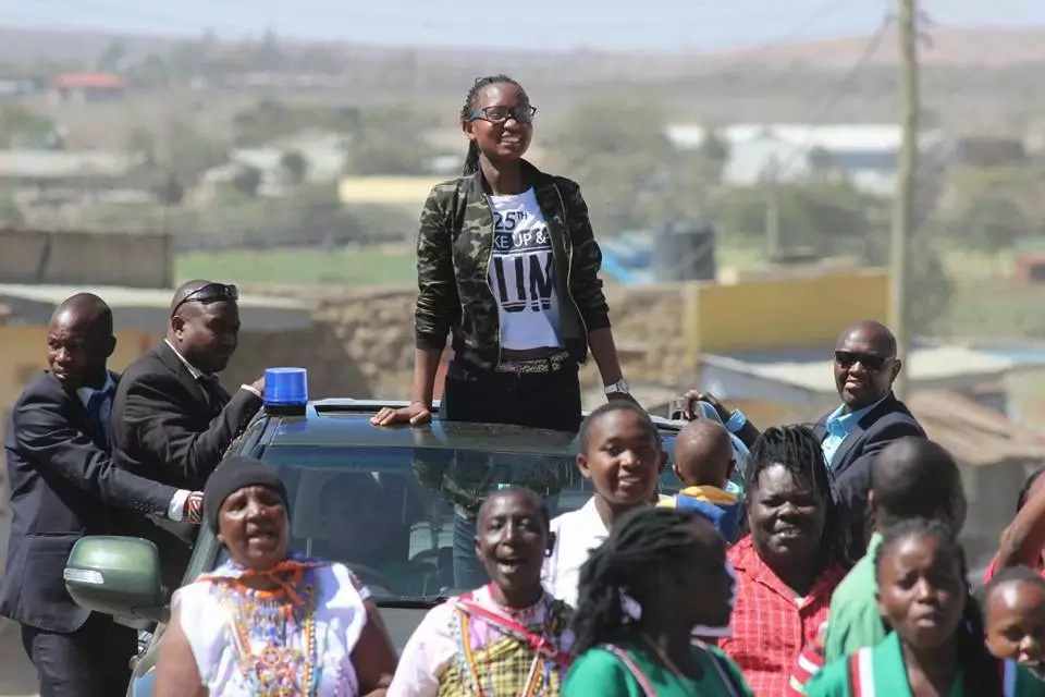 Jubilee MP brings village to standstill with huge party for daughter who scored A- in KCSE 2017